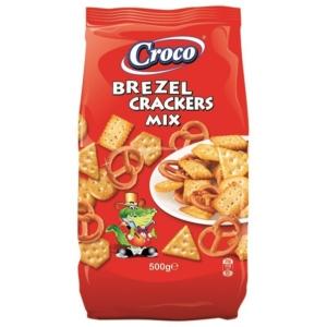 Croco Crackers & Brezel Mix 500G