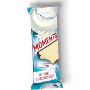 Moments tejcsokoládés krémmel töltött ostyaszelet 45 g