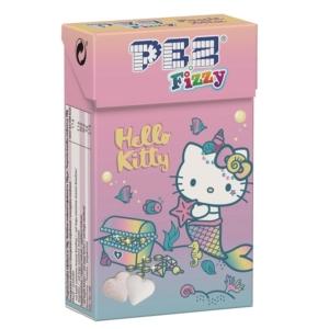 Pez Hello Kitty Fizzy gyümölcs ízű pezsgő hatású cukorka 30G