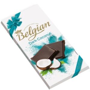 Belgian Dark  kókusszal töltött étcsokoládé 100G