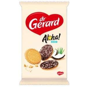 Dr. Gerard kakaós bevonatú, kókusz reszelékes keksz 160 g