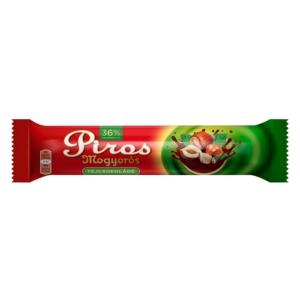 Piros Mogyorós 40G Tejcsokoládé