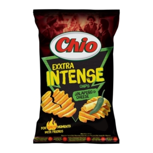 Chio Chips 65G Intense Jalapeno-Cheese
