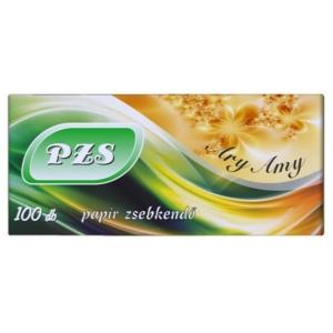 PZs Papírzsebkendő 100Db Ary Amy 3rétegű Parfüm Illatú