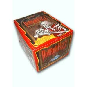 Horror Fizz Vegyes Gyümölcsízű Préselt Cukorka Cukorkaporral 100db*12g