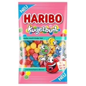 Haribo Kugelbunt gyümölcs ízesítésű zselés cukordrazsé 90G