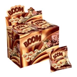 Boom 16G Kakaókrémmel Töltött Keksz