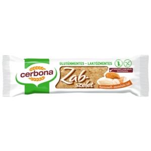 Cerbona karamell-mandula ízű zabszelet 40 g, gluténmentes, laktózmentes