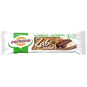Cerbona étcsokoládés-marcipános zabszelet 40 g, gluténmentes, laktózmentes