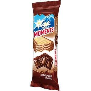 Moments csokoládés-kakaós krémmel töltött ostyaszelet 45 g