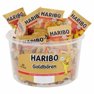 Haribo 500G Goldbaren 50*10g Hengerben