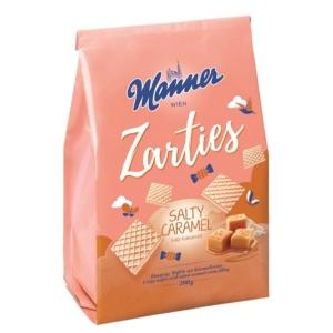 Manner sós karamellel töltött ropogós ostyaszeletek 5 rétegben 200G