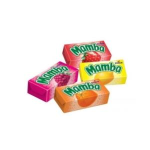 Mamba gyümölcs ízesítésű olvadós cukorka 26.5G