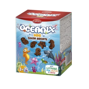 Oceanix 120G Mini Ropogós Csokoládés Keksz