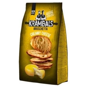 Krambals 70G Bruschetta Cream Cheese - Krémsajt Ízű Pirított Kenyérszelet