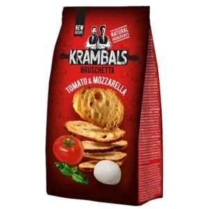 Krambals 70G Bruschetta Tomato & Mozzarella - Paradicsom És Mozzarella Ízű Pirított Kenyérszelet