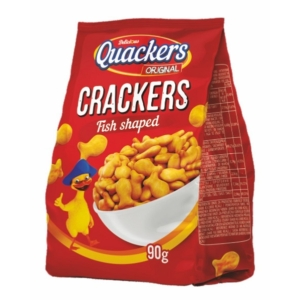 Quackers 90G Crackers Fish Shaped