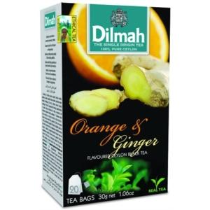 Dilmah Tea 30G Orange-Ginger (Narancs-Gyömbér) DIGR1011