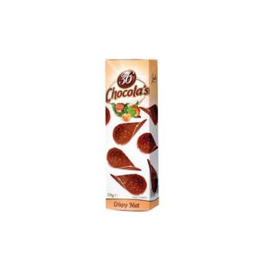 Hamlet 36 Chocola's 125G Crispy Nut Csokicsipsz