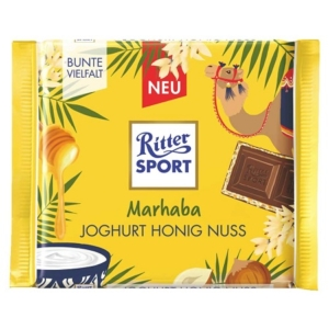 Ritter Sport 100G Joghurt Honig Nuss Marhaba