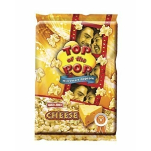 Top Of The Pop Popcorn 100G Cheese