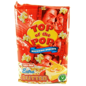 Top Of The Pop Popcorn 100G Extra Butter