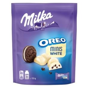 Milka 153G Minis Oreo White