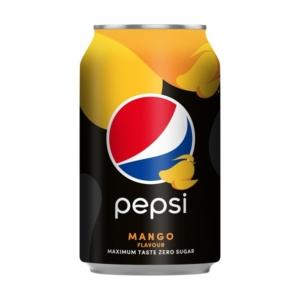 Pepsi Max 0.33L Mangó