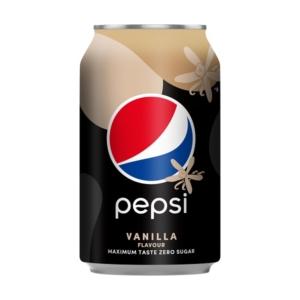 Pepsi Max 0.33L Vanília