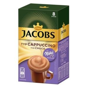 Jacobs Cappuccino Milka Kávé Italpor 8x18G