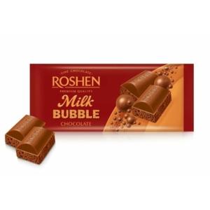 Roshen Aerated Milk Bubble Tejcsokoládé 80G