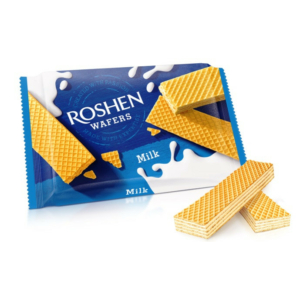 Roshen Wafers 72G Milk