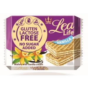 Lea Life 95G Ostyaszelet Vanília Hozzáadott Cukor-, Glutén-, Laktózmentes