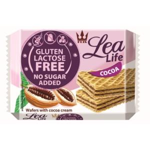 Lea Life 95G Ostyaszelet Kakaó Hozzáadott Cukor-, Glutén-, Laktózmentes