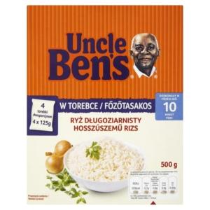 Uncle Ben's 500G Rizs Főzőtasakos