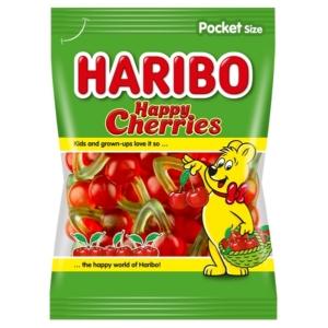 Haribo Happy Cherries gyümölcs ízű gumicukorka  100 g