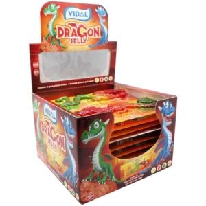 Vidal Dragon Jelly sárkányos gumicukor 33 g