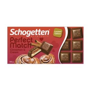 Schogetten Perfect Match 100G Cinnamon&Cream
