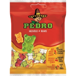 Pedro 80G Bears Maci Gumicukor PEDR1001