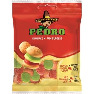 Pedro 80G Fun Burgers Gumicukor  PEDR1003