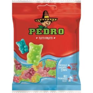 Pedro 80G Tutti Frutti Maci Gumicukor  PEDR1008