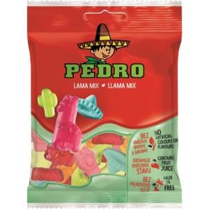 Pedro 80G Lama Mix Gumicukor  PEDR1015