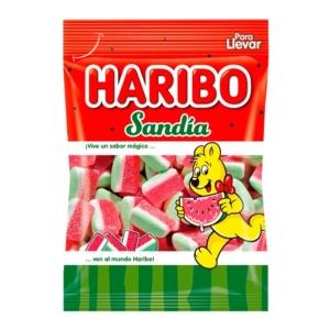 Haribo sandia görögdinnye ízű 3 rétegű habcukor 90G