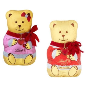 Lindt 100G Bear Girl & Bear Coat Mixed   LNFI2962