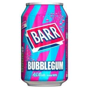 BARR Bubblegum 330ML (Rágógumi)