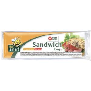 Paclan Szendvicszacskó 100db Sandwich Bags (17*24cm)