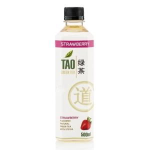 TAO 500ML Zöld Tea Eper