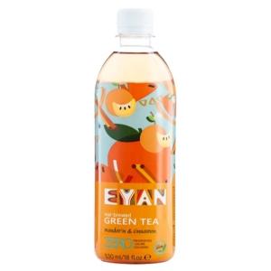 EYAN Zöld Tea 530ML Mandarin-Fahéj