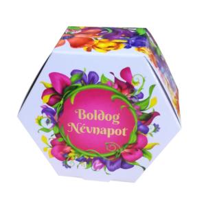 Chocolips Boldog Névnapot /Szeretlek- Kávés Praliné 84G