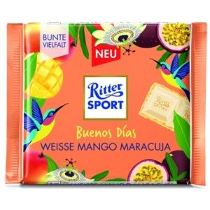 Ritter Sport 100G Weisse Mango-Maracuja